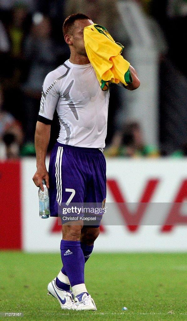 Group F Japan v Brazil - World Cup 2006 : Photo d'actualité