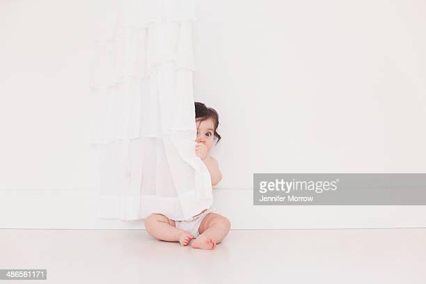 Hiding behind the curtain