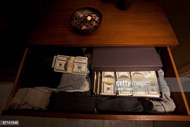 Hiding cash within your clothes