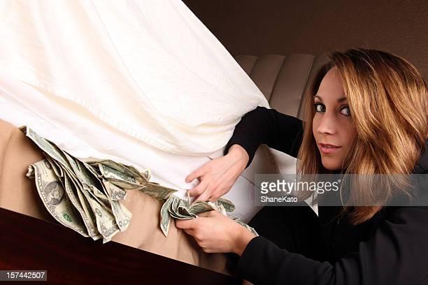 Hiding your Money under a Mattress