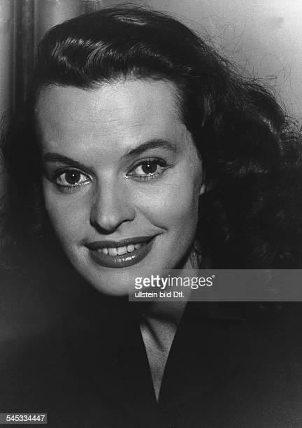 Hielscher Margot *Schauspielerin Schlagersaengerin D Portrait 1958