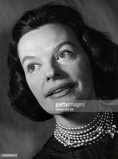 Hielscher Margot *Schauspielerin Schlagersaengerin D Portrait 1960