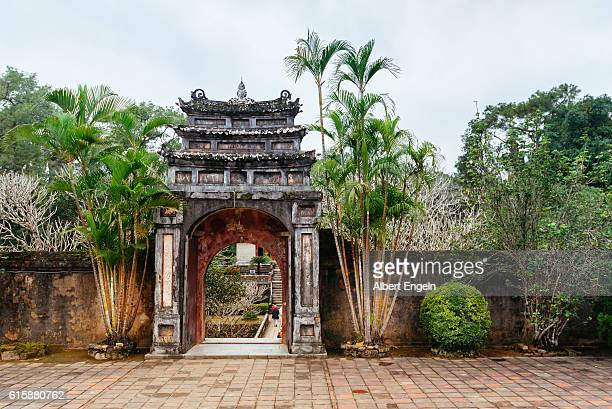 Hien Duc Gate at Minh Mang tomb.