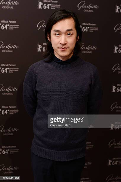Hien Le attends the Kinemathek Reception At Glashuette Original Lounge on February 14 2014 in Berlin Germany