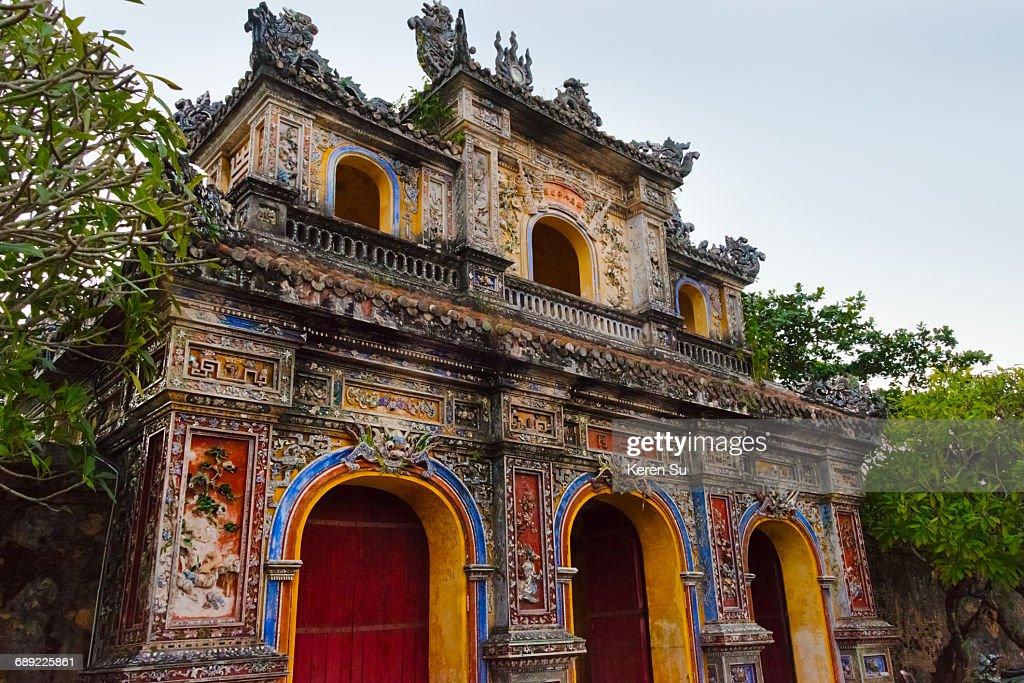 Hien Nhon gate of Forbidden Purple City : Stock Photo