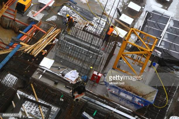 Hier auf dieser Baubrache davor temporaerer Parkplatz starteten im August 2015 die Bauvorbereitungen fuer einen 95 Mill teuren HotelNeubau Motel One...
