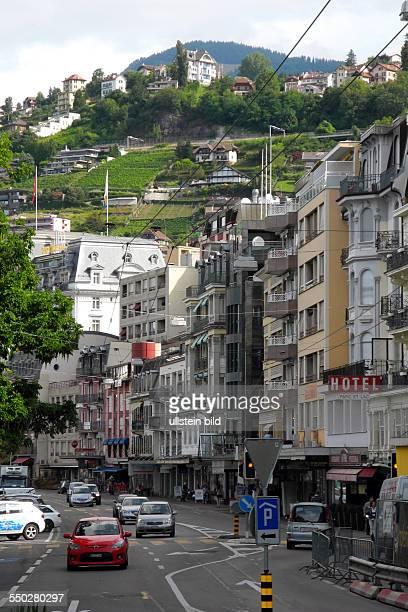 Hier ein Blick in die Grand Rue