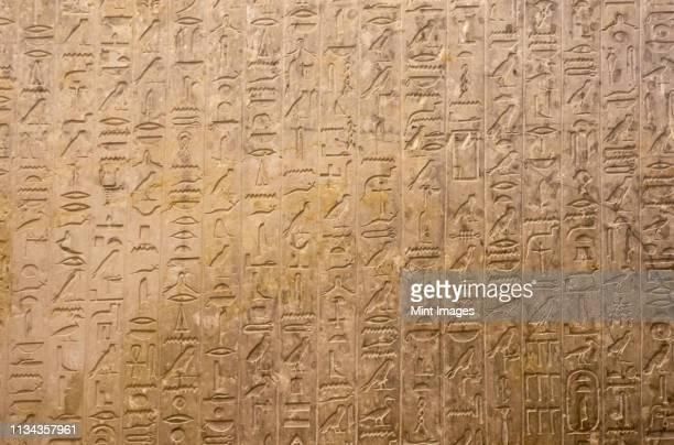 hieroglyphics - hieroglyphics stock pictures, royalty-free photos & images