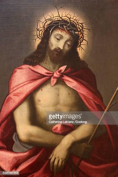 hieron museum. jesus-christ. - coroa de espinhos imagens e fotografias de stock