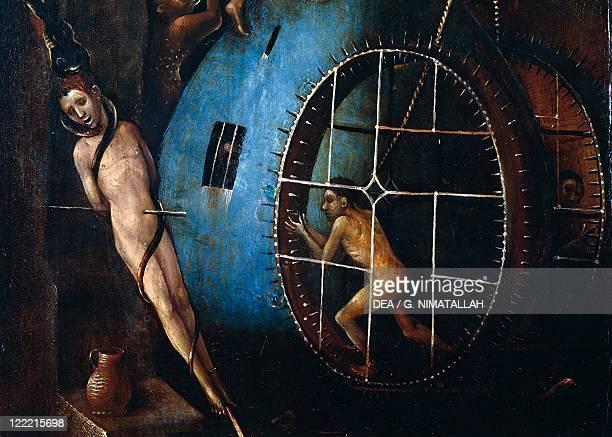 Hieronymus Bosch Last Judgement central panel oil on panel 163x127 cm Detail