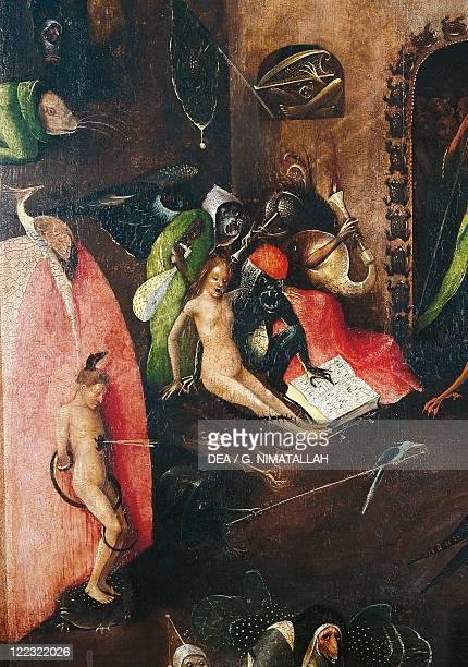 Hieronymus Bosch Last Judgement Detail