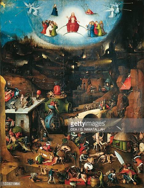 Hieronymus Bosch Last Judgement triptych