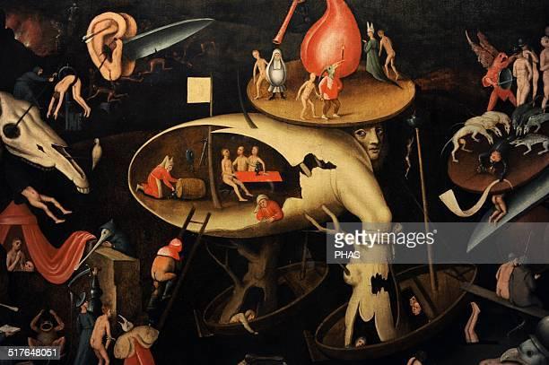 Hieronymus Bosch The Last Judgement 1540 German Historical Museum Berlin Germany