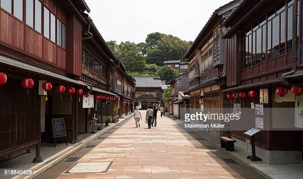 Higashi Chaya tea house district, Kanazawa