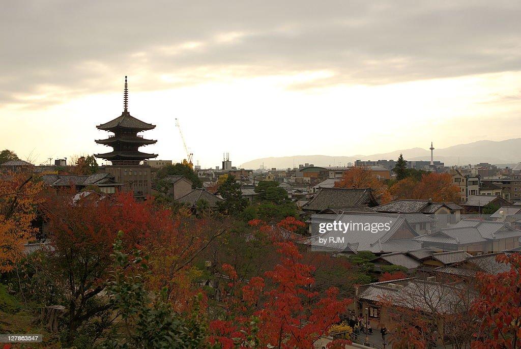 Higashiyama from Kodai-ji : ストックフォト
