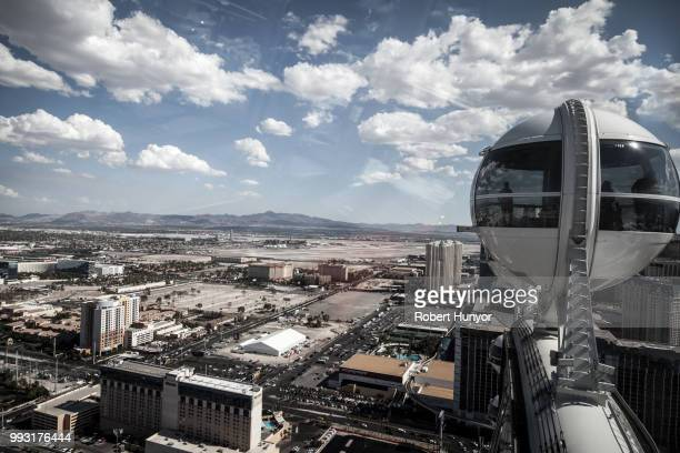 High Above on the High Roller - Las Vegas