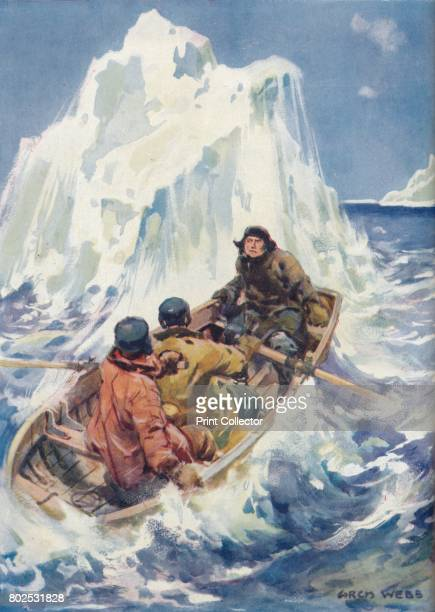 High Adventure in the Arctic Regions' c1925 From Cassell's Romance of Famous Lives Volume 2 by Harold Wheeler [The Waverley Book Company Ltd London...