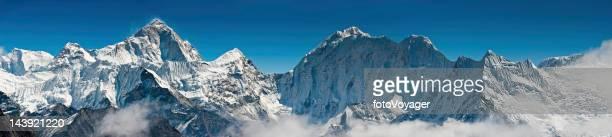 Wildnisgebiet High altitude peak panorama Himalaya Berge