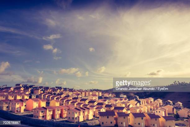 high angle shot of cityscape - file:the_wyoming,_orlando,_fl.jpg stock pictures, royalty-free photos & images