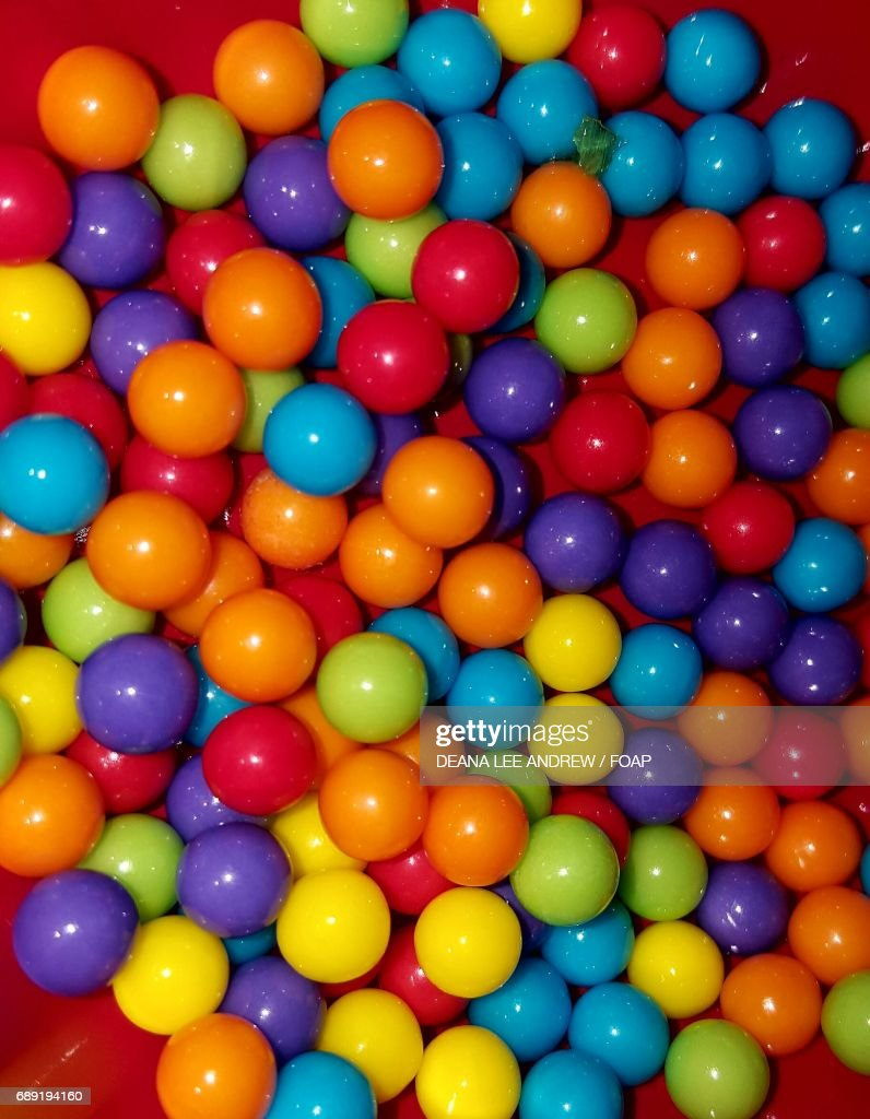 High angle view of a candy : Stock Photo