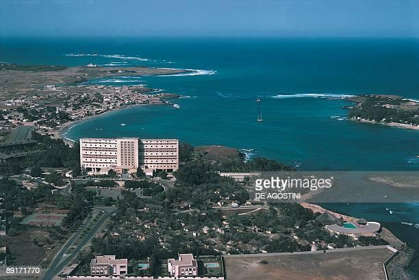 High angle view of a city Dakar Senegal
