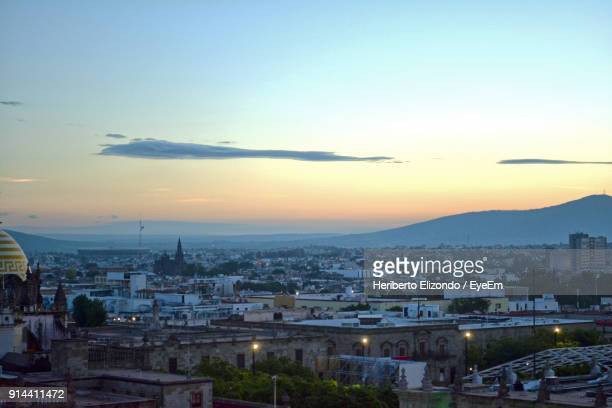 high angle view of a city - guadalajara mexico stock pictures, royalty-free photos & images
