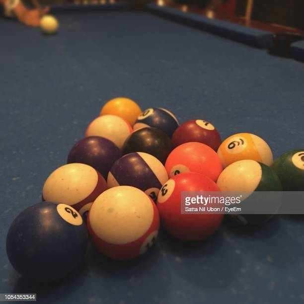 Pool Table Setup >> Pool Table Setup Premium Pictures Photos Images Getty