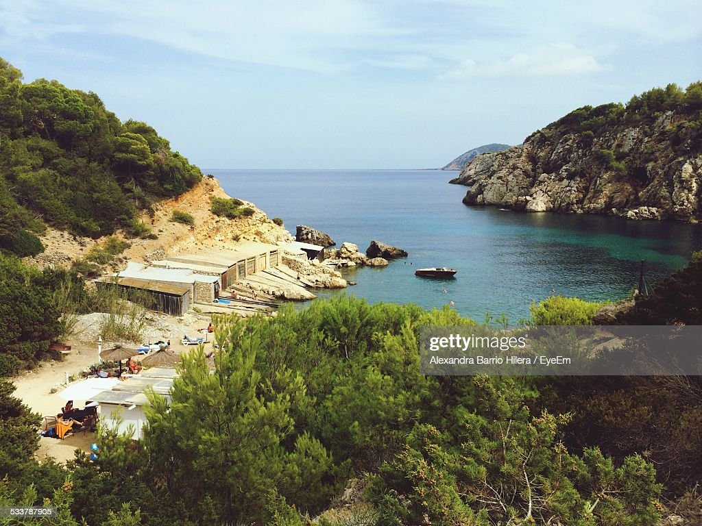 High Angle View Of Beach : Foto stock