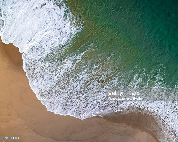 high angle view of beach - cabo san lucas stock pictures, royalty-free photos & images