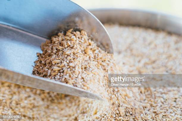 high angle view of bread in container - bühne stock pictures, royalty-free photos & images