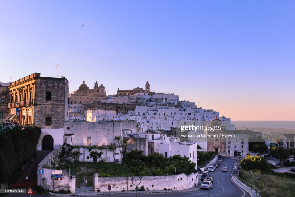 High Angle View Of Buildings In City : Stock Photo