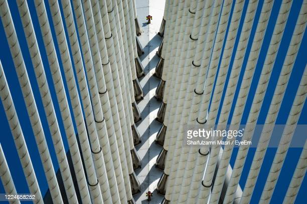 high angle view of built structure - shaifulzamri stock pictures, royalty-free photos & images
