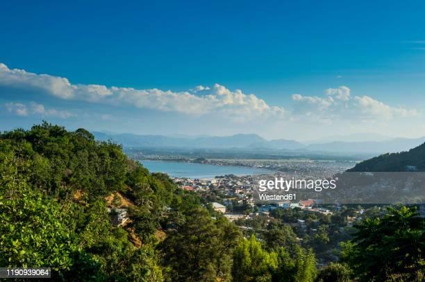 high angle view of cap haitien, haiti, caribbean - paisajes de haiti fotografías e imágenes de stock