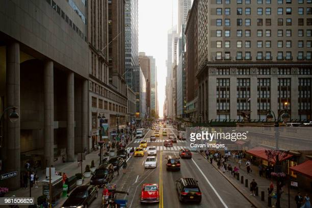 high angle view of cars on city street - adults only photos stock pictures, royalty-free photos & images