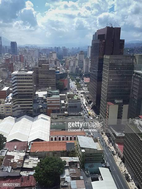 High Angle View Of City.