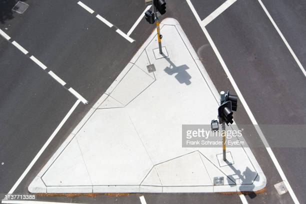 high angle view of city street - frank schrader stock pictures, royalty-free photos & images