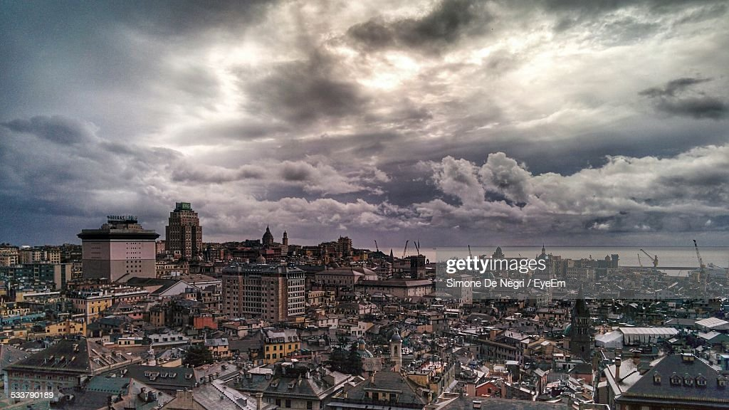 High Angle View Of Cityscape : Foto stock