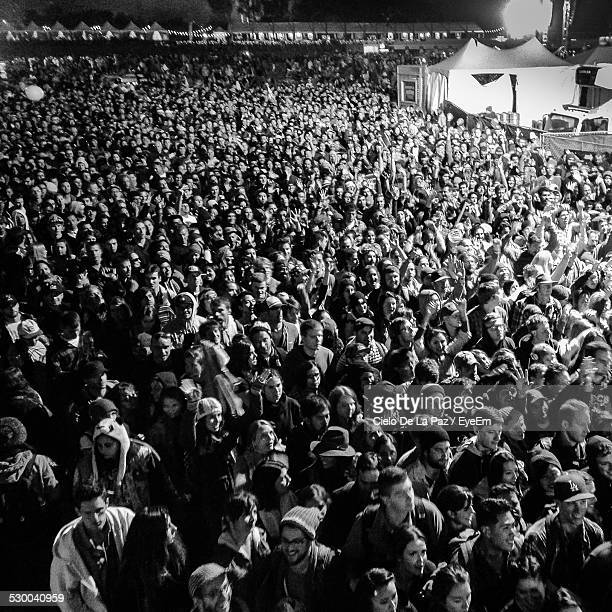 high angle view of crowded street at night during festival - cielo stock pictures, royalty-free photos & images
