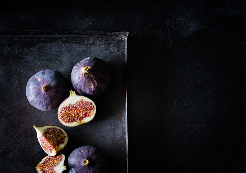 High Angle View Of Figs - gettyimageskorea