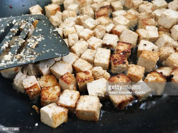 high angle view of food - meat substitute stock pictures, royalty-free photos & images