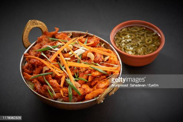 high angle view of food served on table - utensil stock pictures, royalty-free photos & images
