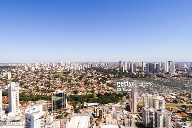 high angle view of goiânia, goiás - goiania stock pictures, royalty-free photos & images
