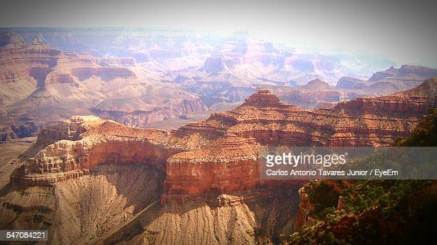 High Angle View Of Grand Canyon