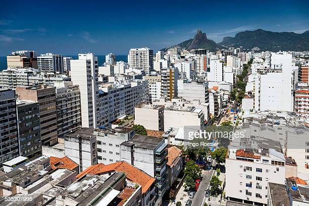 High angle view of Ipanema district