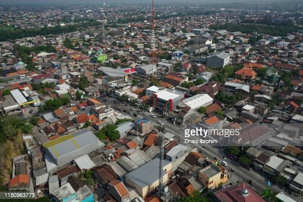 High Angle View Of Jolotundo Street
