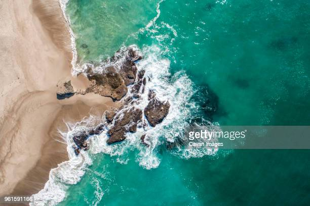 high angle view of laguna beach - laguna beach california stock pictures, royalty-free photos & images