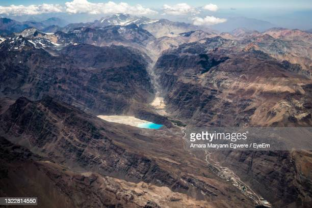 high angle view of landscape against sky - nigeria stock pictures, royalty-free photos & images