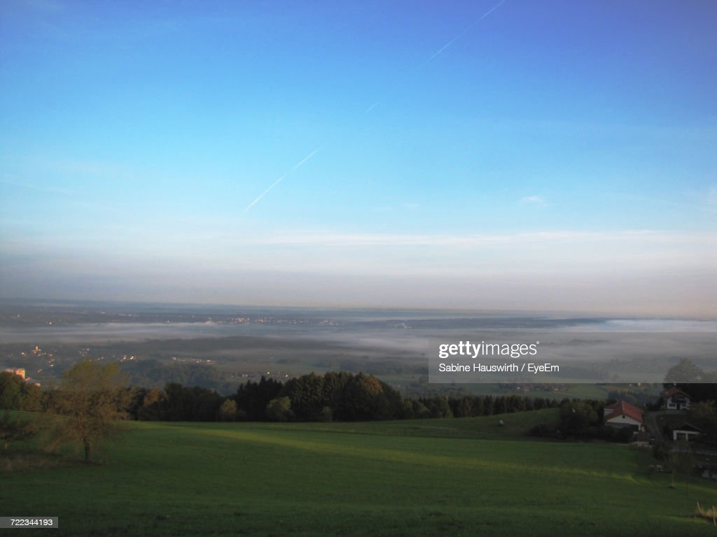High Angle View Of Landscape : Stock-Foto