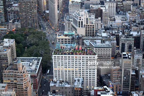 high angle view of manhattan - carolina fragapane stock pictures, royalty-free photos & images