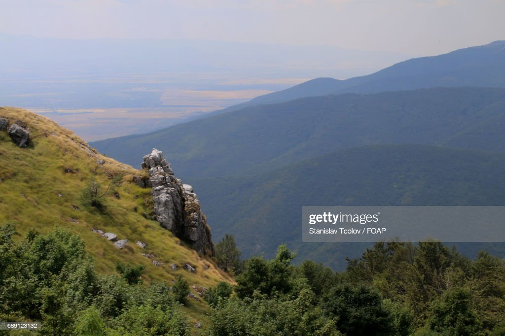 High angle view of mountain : Stock Photo